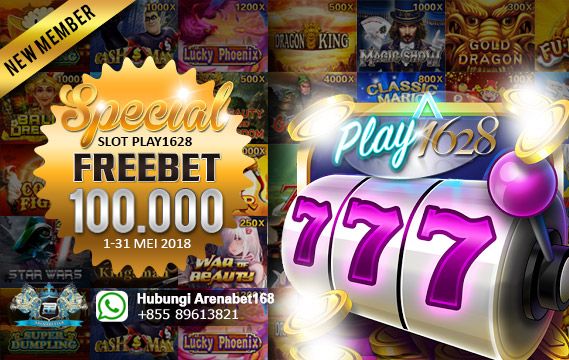 Promo Freebet Slot Play1628